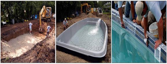 Extra Large Small Fiberglass Pools San Juan Pools Acadiana Pools Breaux Bridge La
